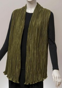 tsao pleated vest